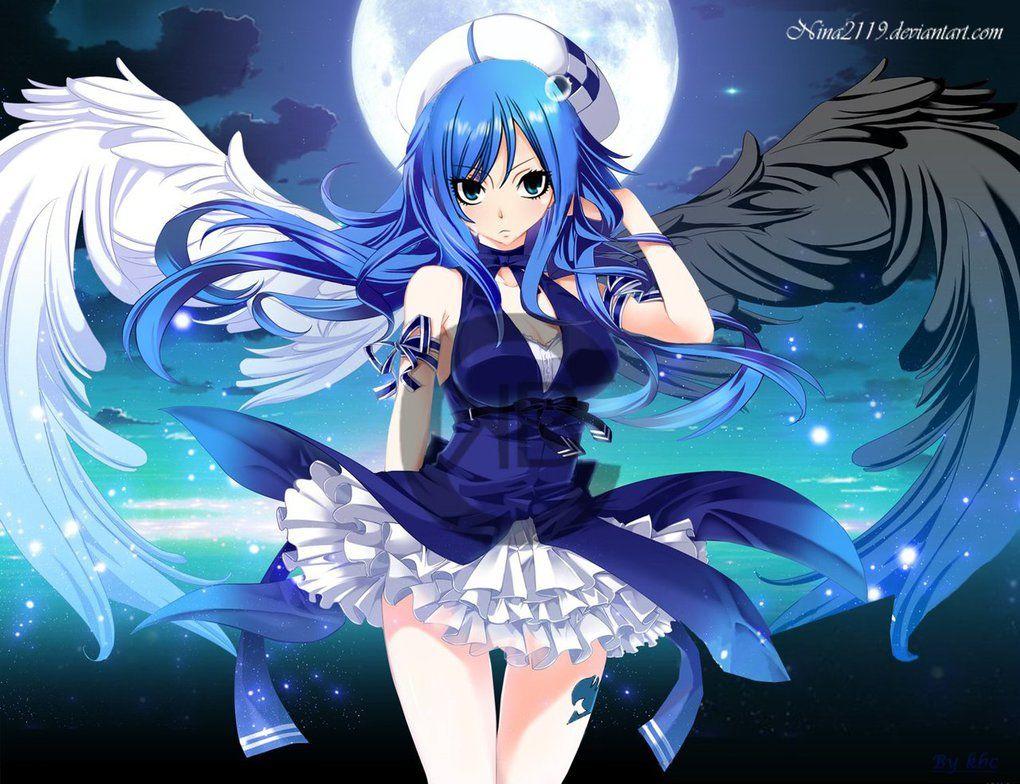 Juvia Ange Demon by nina2119 Fairy tail
