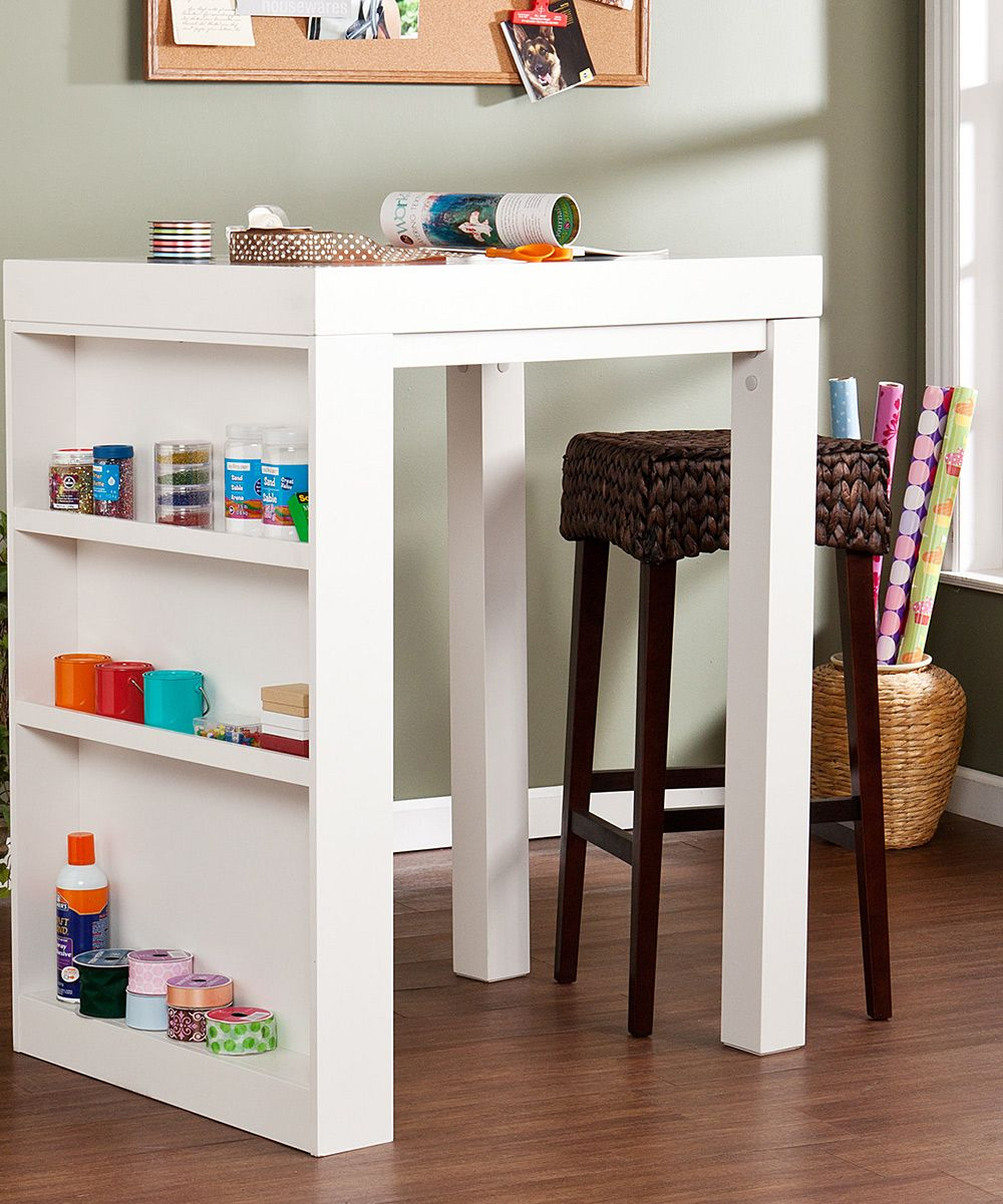 Pin By Nancy1761 On Absolutely Love It Craft Tables With Storage Dining Table In Kitchen Home