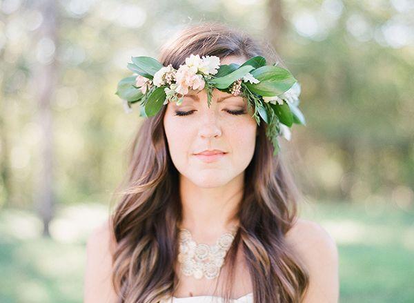 Leafy crown | Photo by Michelle Boyd