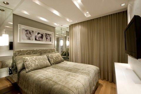 diseo dormitorio matrimonio moderno Quarto Pinterest Flats