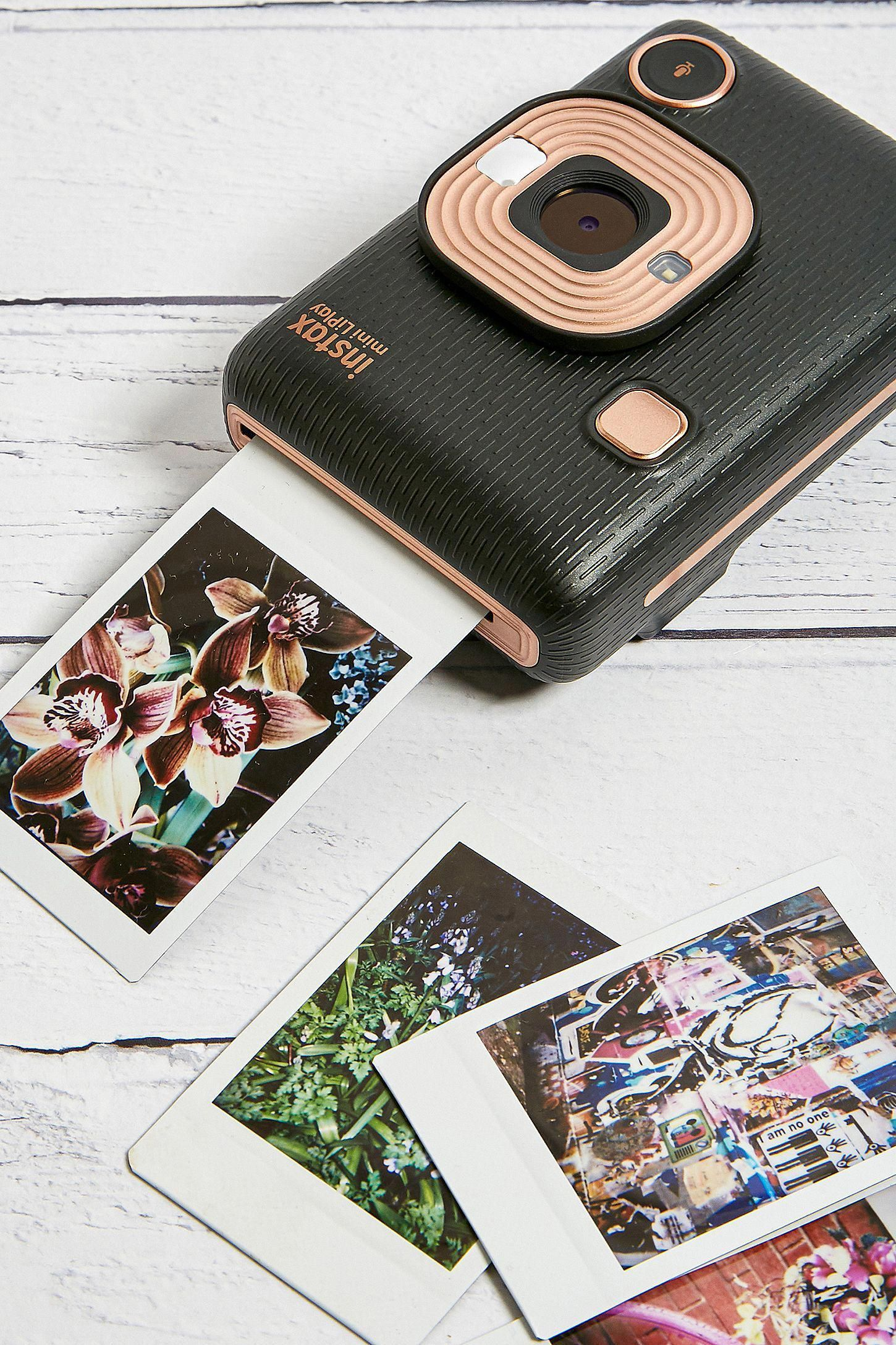 Fujifilm LiPlay Instax Mini Digital Instant Camera Urban