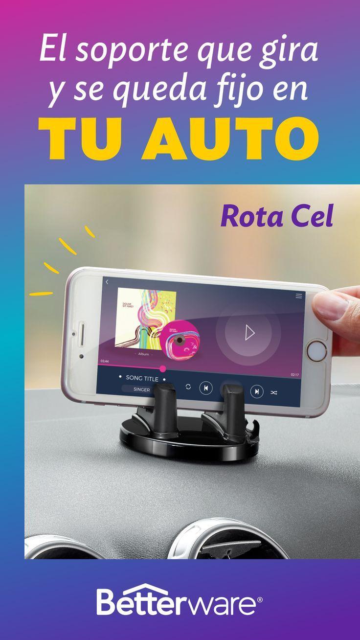 Posiciona tu celular como lo necesites mientras viajas en el auto 📱🚘