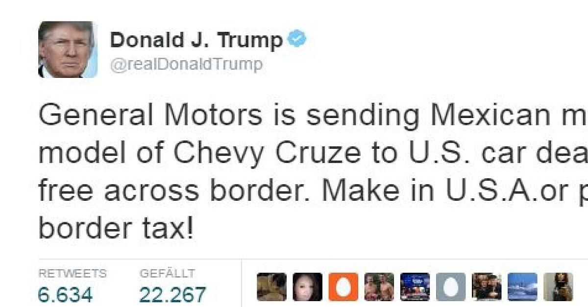 News: CES und Detroit Auto Show 2017 - Trump twittert - Autoindustrie in Aufruhr: Ford stoppt Fabrikbau in Mexiko - http://ift.tt/2i98JO8