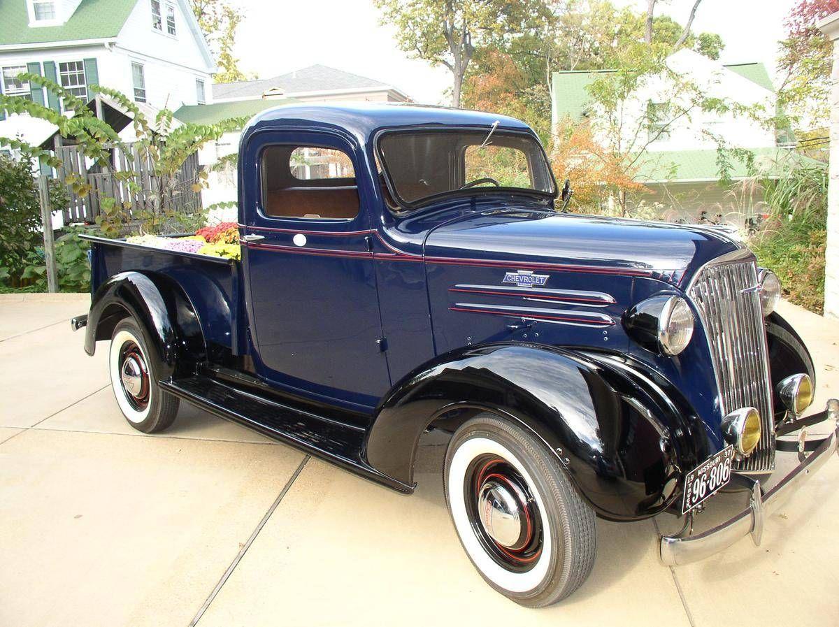 1937 Chevrolet Half Ton Pickup Truck | Pickups, Panels, Vans