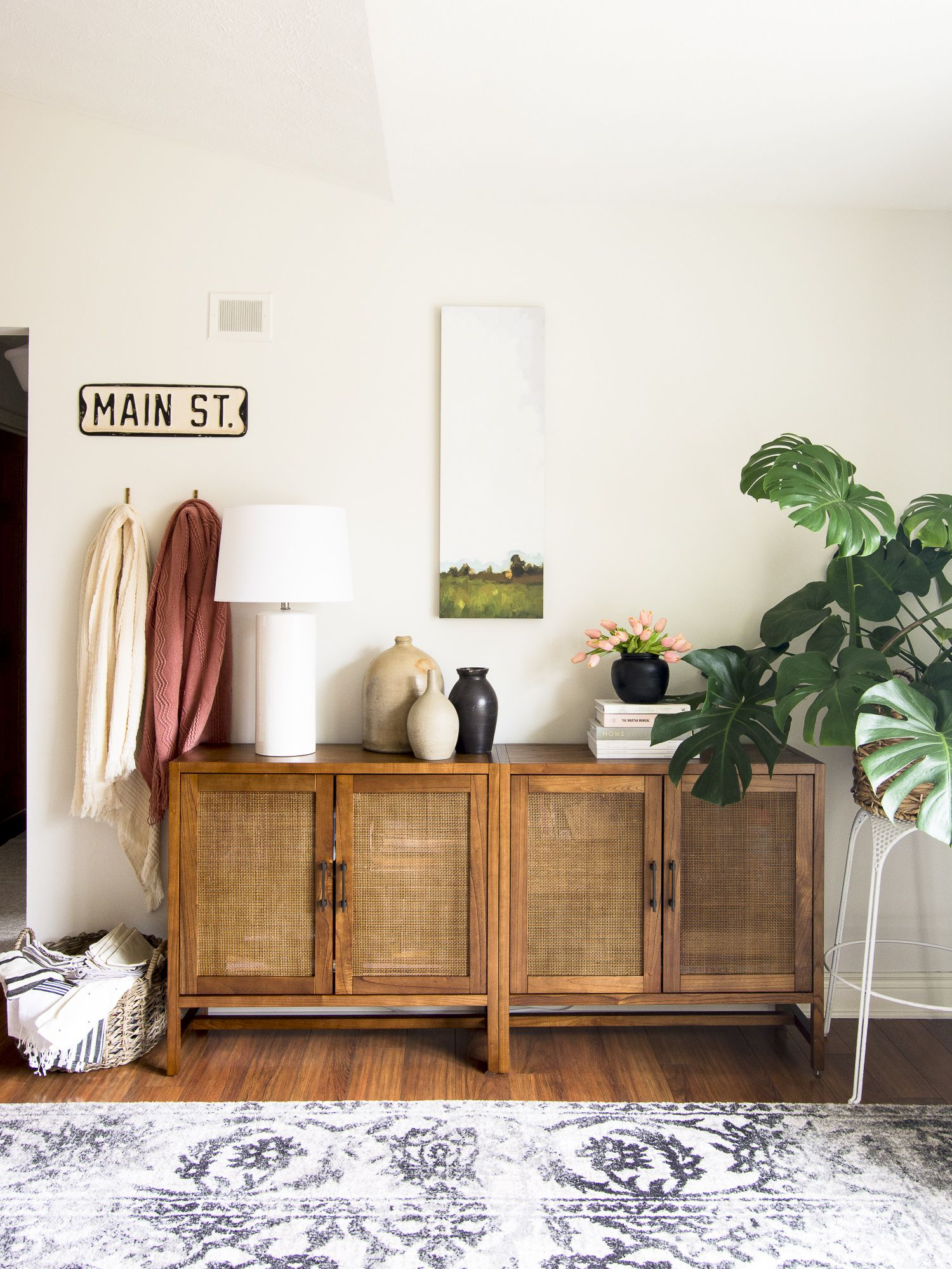Neil Dusheiko Creates Home For Father In Law Featuring A Wall Of Art In 2021 Living Room Storage Small Living Room Storage Home Decor