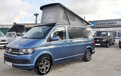 2016 Reg Volkswagen VW Transporter Trendline T6 102 Ps Pop Top Camper Campervan