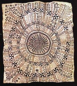 Hiapo, 192 x 174cm, Auckland Institute and Museum