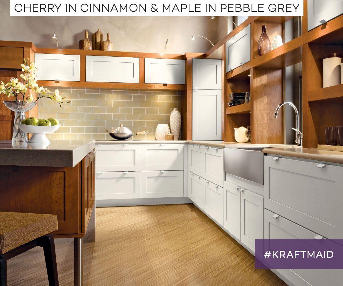 Soft Neutrals And Clean Lines Make A Cozy Kitchen Corner Feel Plenty Big Kitchen Cabinet Inspiration Urban Kitchen Craftsman Kitchen