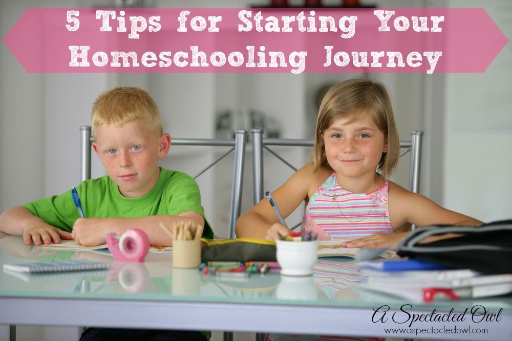 5 Tips for Starting Your Homeschooling Journey