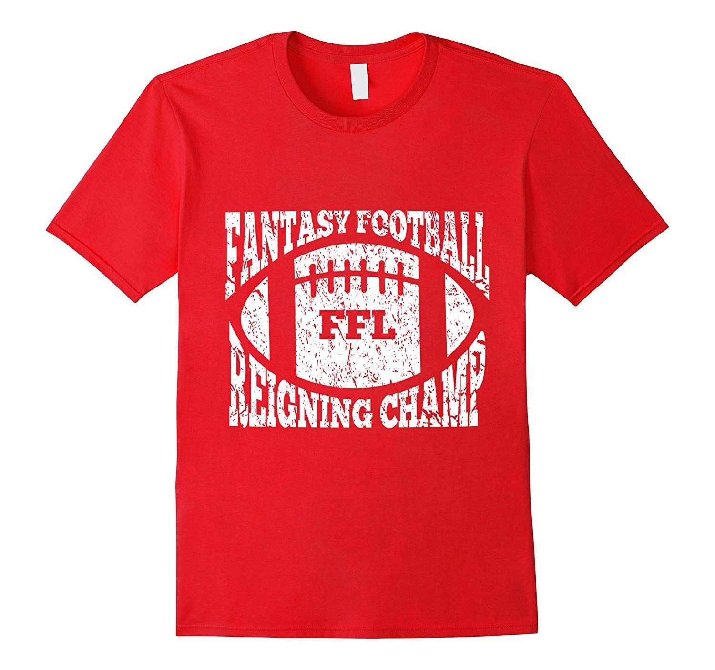 Fantasy Football Reigning Champ Vintage LookT Shirt #superherogifts