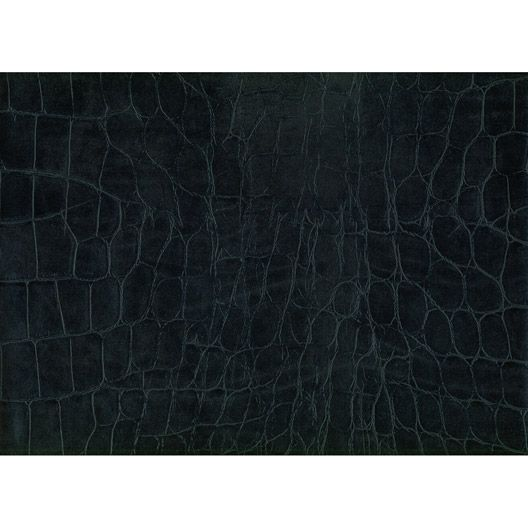 Revêtement Adhésif Croco, Noir, 0.45 X 2 M