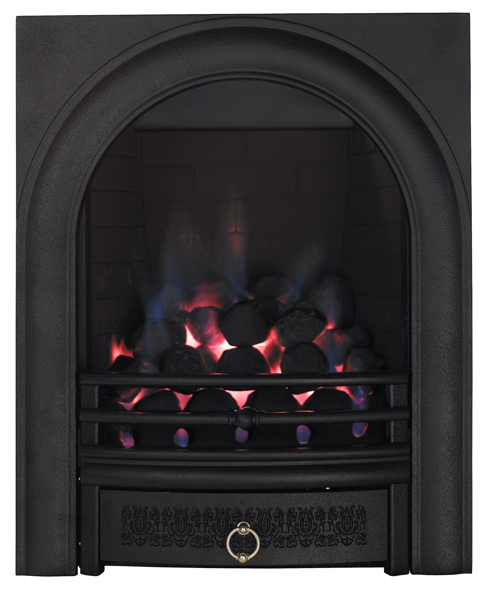 focal point arch black manual control inset gas fire gas fires