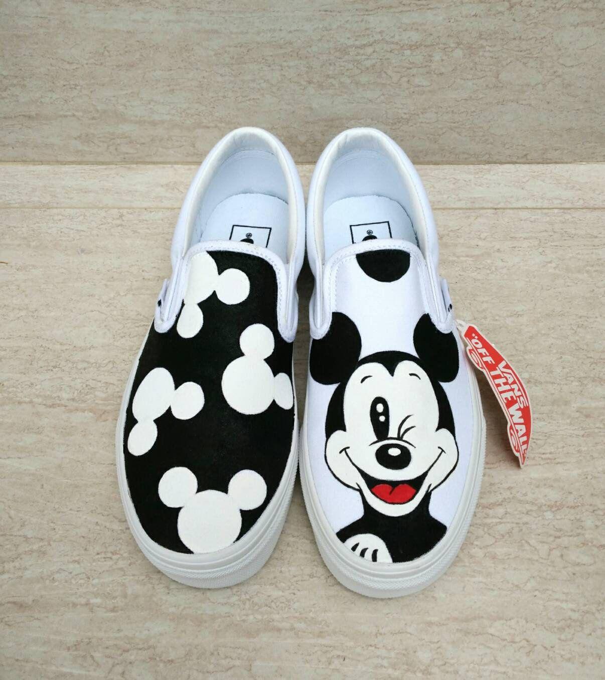 Disney shoes, Disney painted shoes