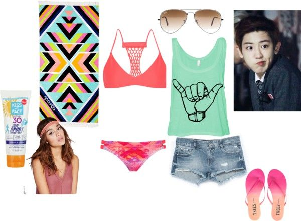 Beach Vacation with Chanyeol