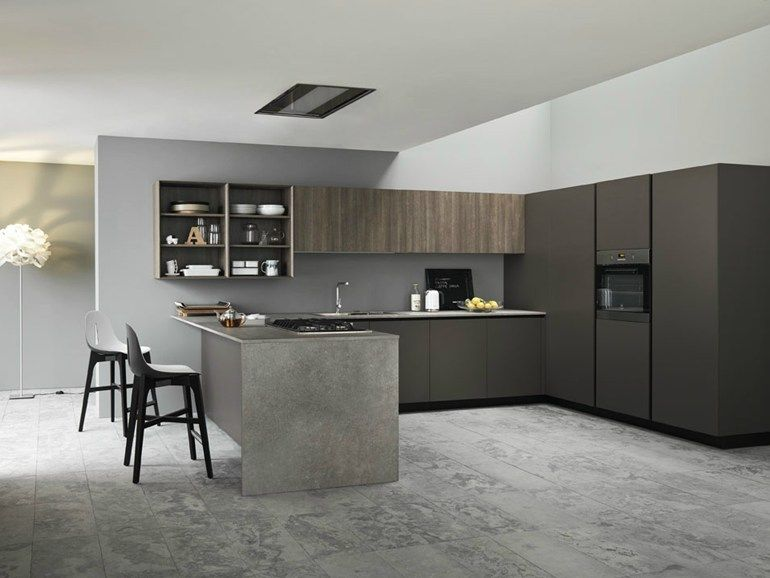Fitted kitchen ARIEL 04 by Cesar Arredamenti design Gian