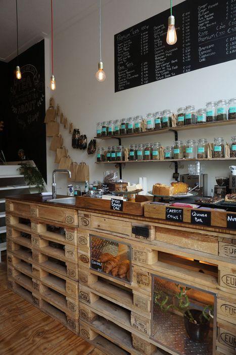 La récup\u0027 dans la cuisine Coffe bar, Barn and Pallets