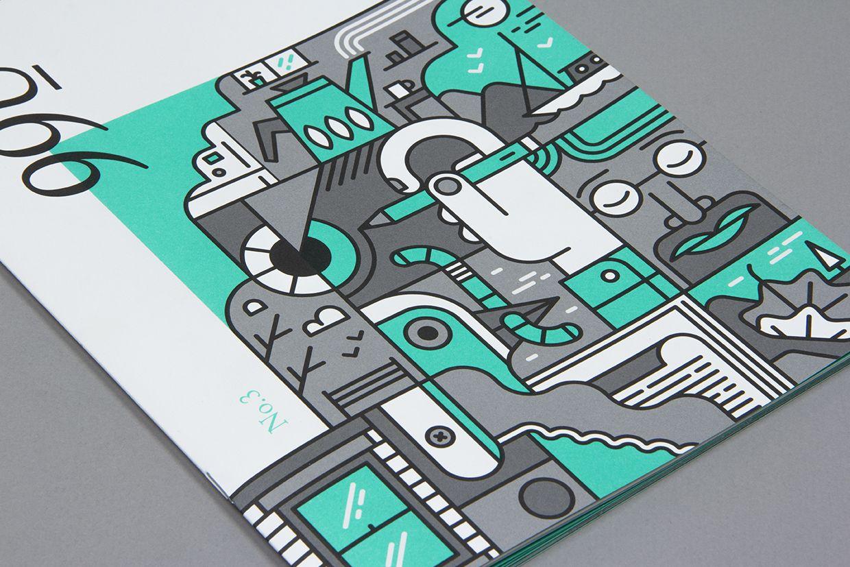 Editorial Design Inspiration: 99U Quarterly Mag - http://www.playmagazine.info/editorial-design-inspiration-99u-quarterly-mag/