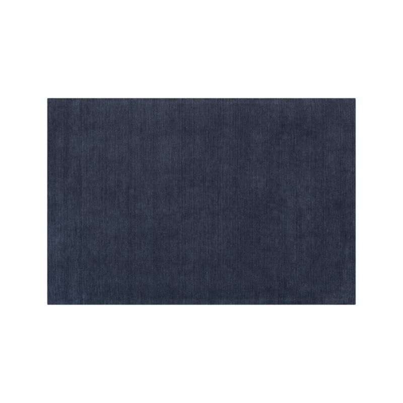 Baxter Indigo Rug Blue Wool Rugs Grey Wool Rugs Wool Rug