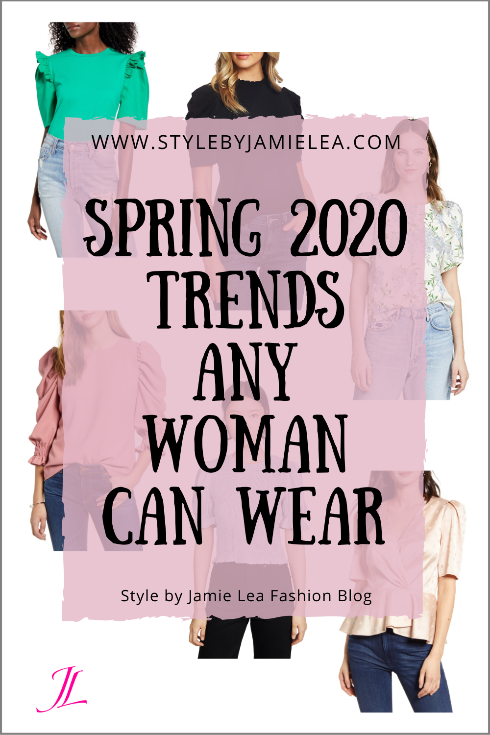 Spring 6 Trends Any Woman Can Wear  Spring fashion trends
