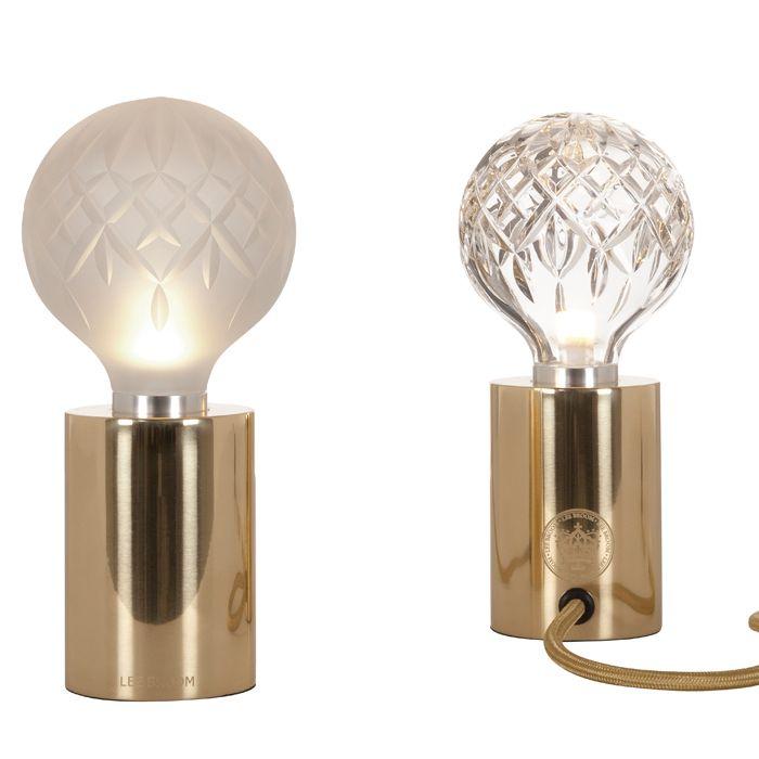 Lee Broom Crystal Bulb Table Lamp Lighting Modern Light Bulbs Table Lamp Design Beautiful Table Lamp