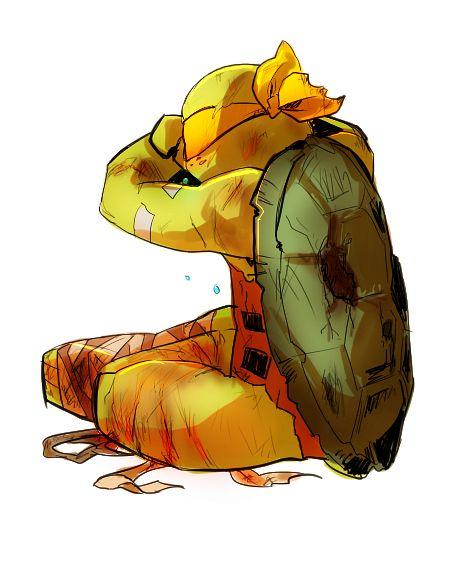 Damaged Mikey Tmnt 2012 Teenage Ninja Turtles Tmnt Turtles