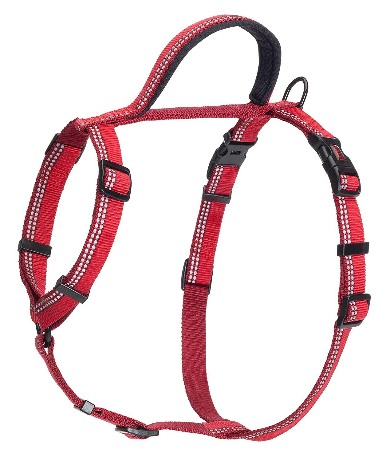 The Company of Animals HALTI Walking Harness, Red, Large * Want additional info? Click on the image.