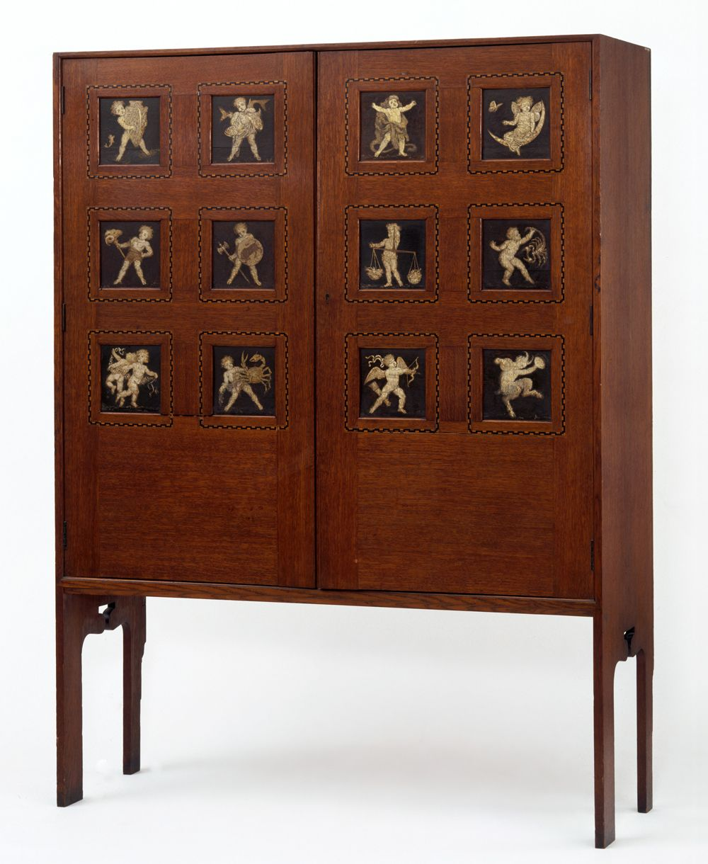 Cabinet, Lewis Foreman Day, About Museum No. Style Guide: Arts U0026 Crafts    Victoria And Albert Museum
