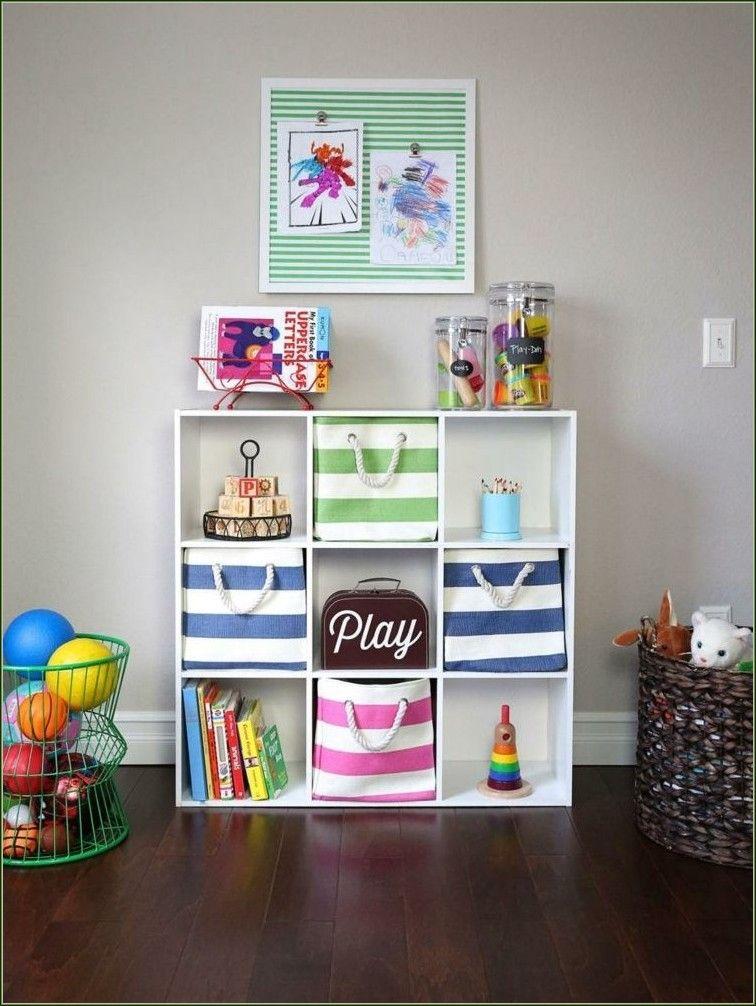 Aufbewahrung Spielzeug Aufbewahrungsbox Textil Bunt Streifen Regal ...
