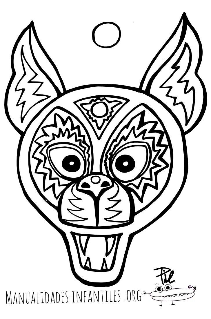 Resultado de imagen para mascaras de animales para imprimir am