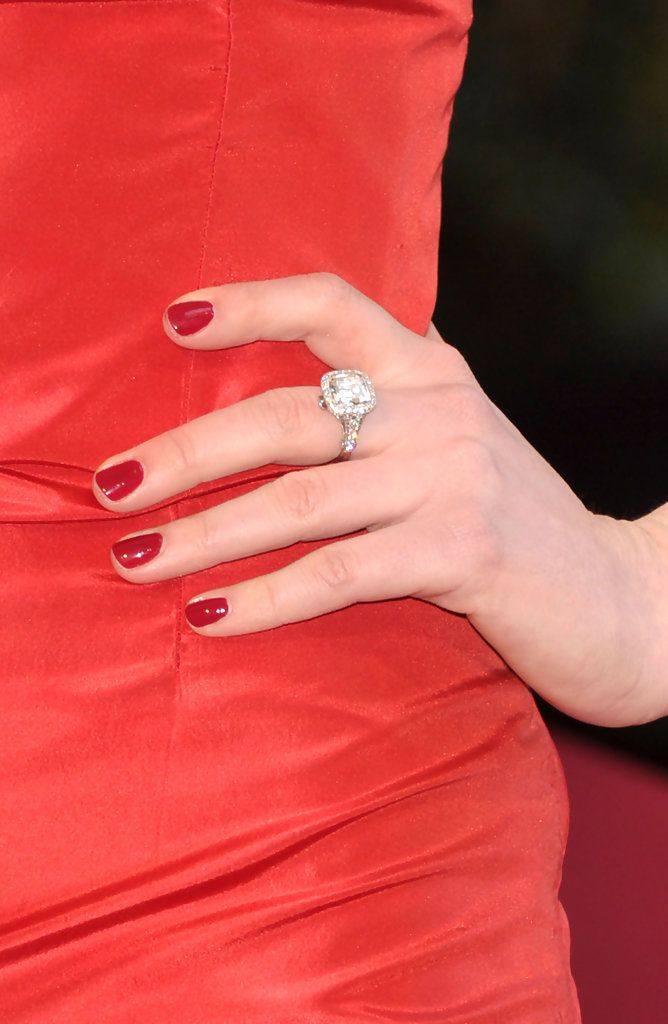 Anne Hathaway Red Nail Polish | Nails | Pinterest | Valentino red ...