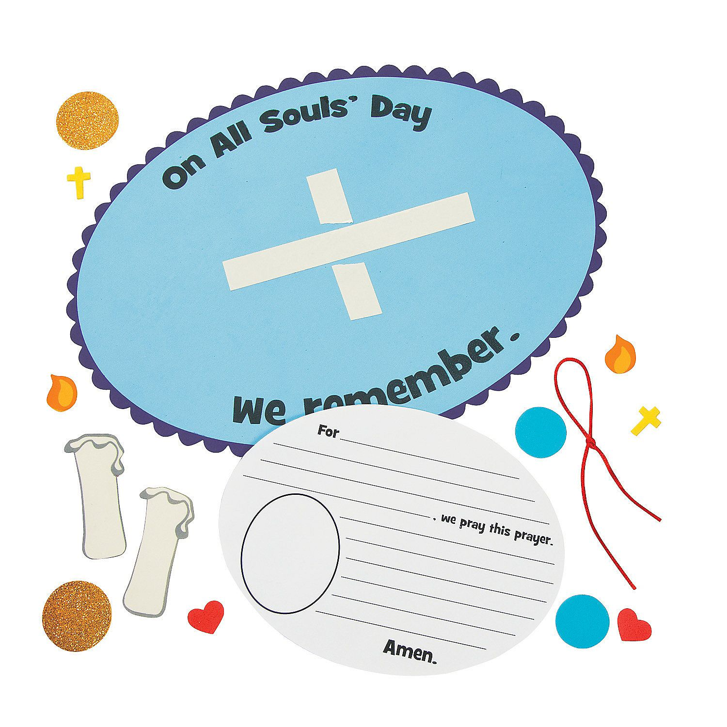 All Souls Day Craft Kit Decoration Crafts Crafts For