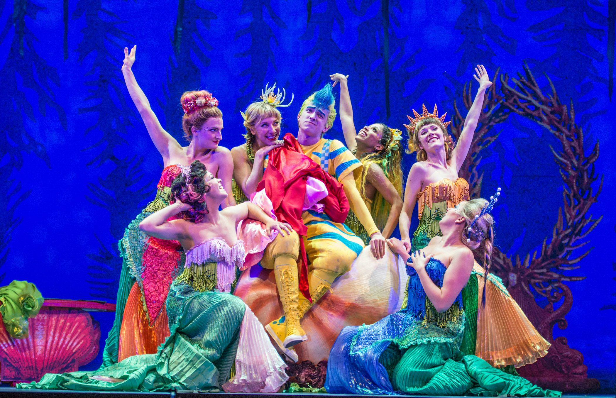 the little mermaid stage - Google Search