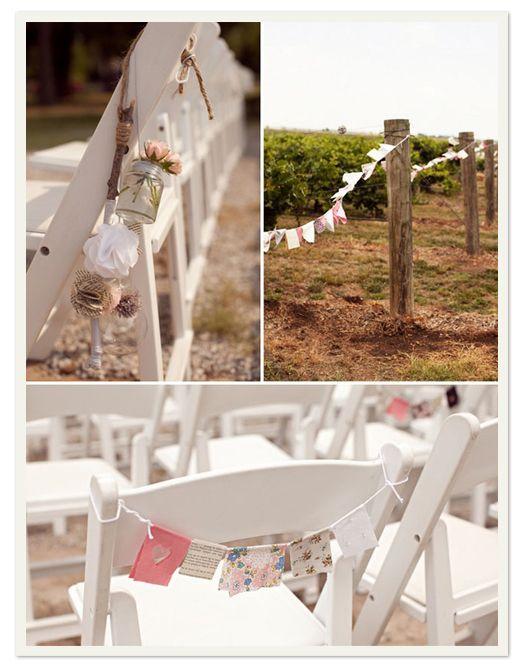 Bonjour à tous voici des idées de décorations pour vos chaises bancs déglise etc bonne visite