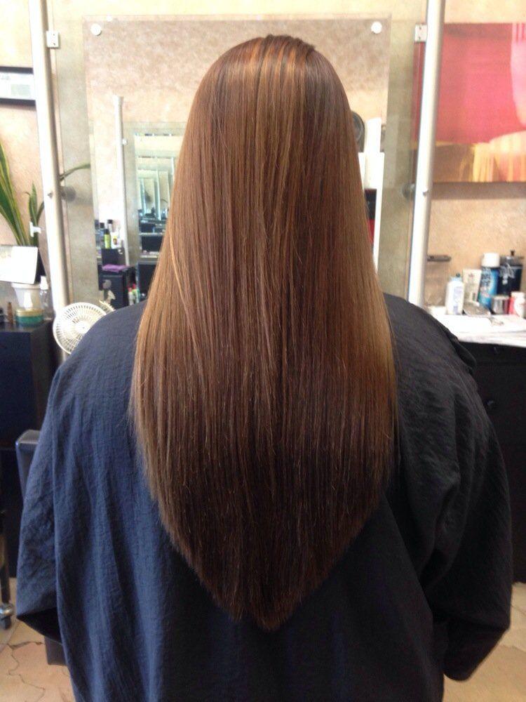 v shaped haircut hairstyles