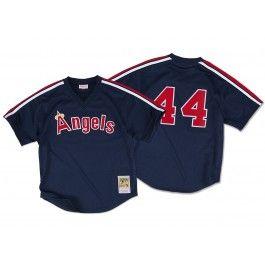 Reggie Jackson<br>1984 Authentic Mesh BP Jersey<br>California Angels