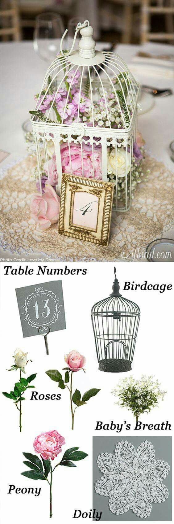 Arreglo para boda vintage | Ιδέες γάμου | Pinterest | Wedding bells ...