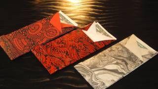 origami flap envelope - YouTube