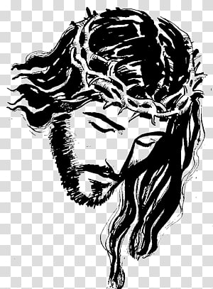 drawing jesus christ crown of thorns Google Search