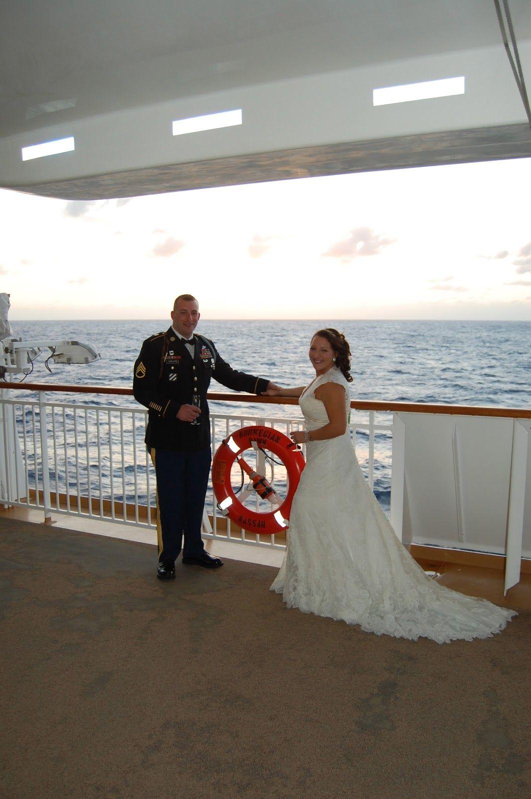 Bright Old Beginnings Cruise ship wedding, Honeymoon
