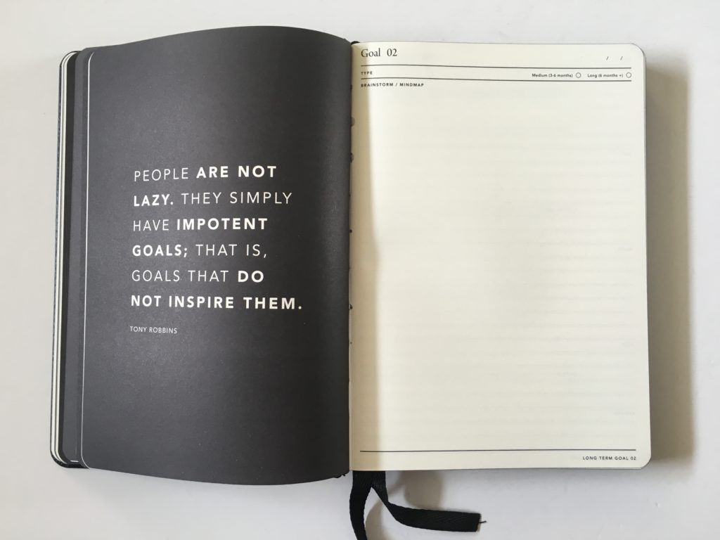 Mi Goals Goal Digger Weekly Planner Review Pros