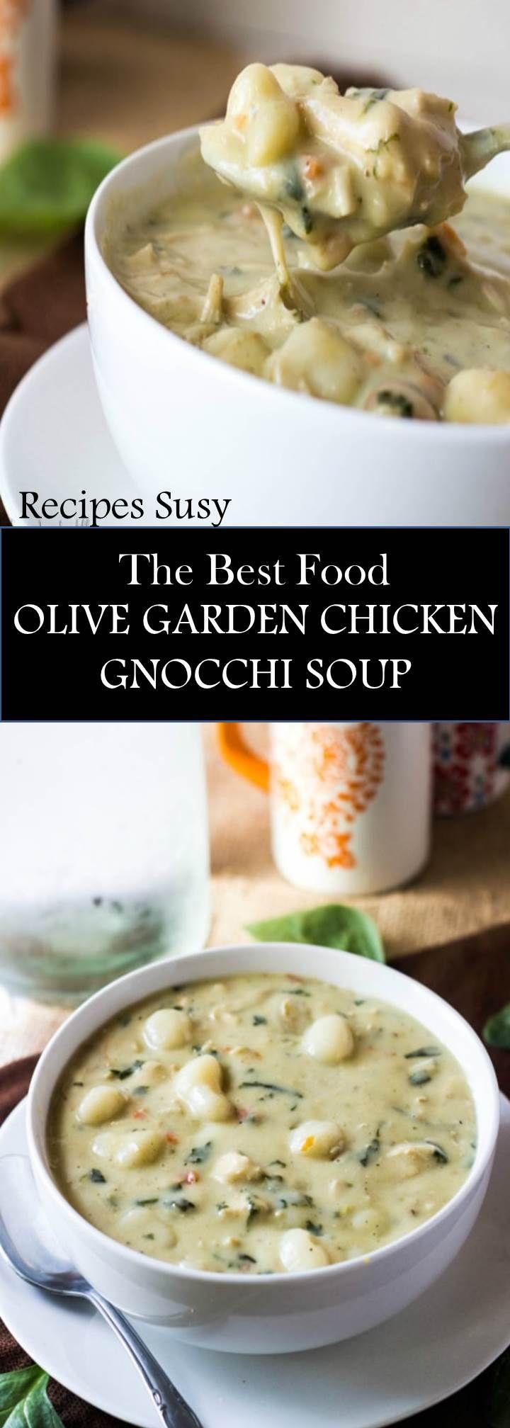 Recipe Susy==>OLIVE GARDEN Chicken gnocchi, Olive garden