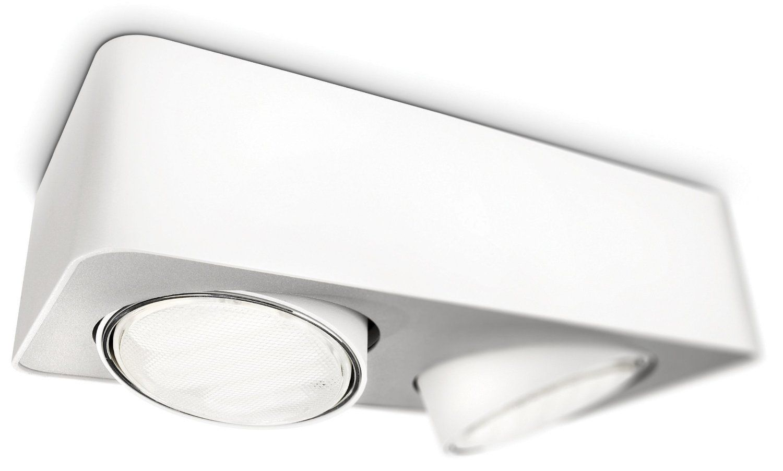PHILIPS Ecomoods Energiespar- Aufbauspot mit 9W, EEK B, inklusive Leuchtmittel, 2-flammig 579523116: Amazon.de: Beleuchtung