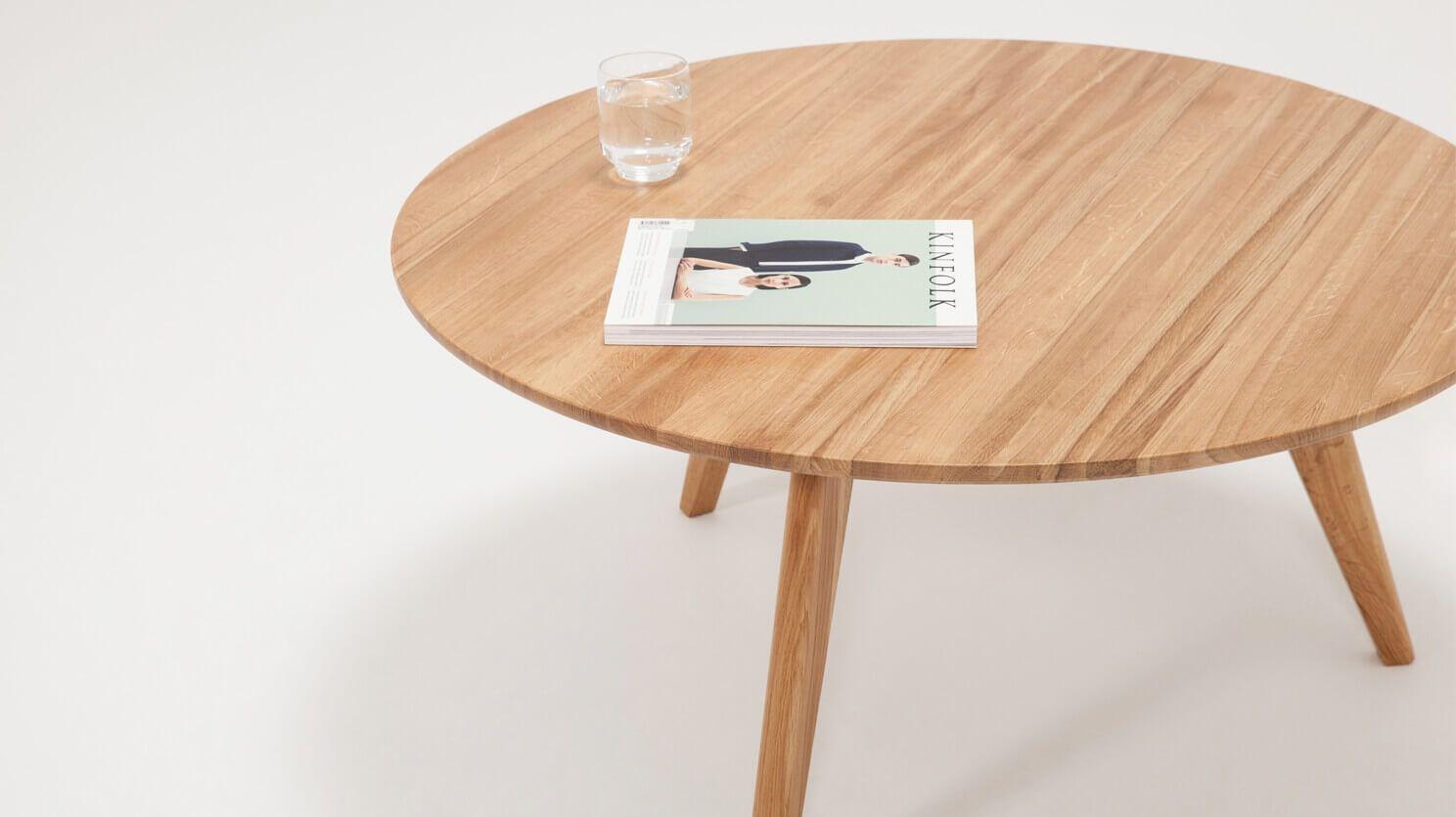 Tate Coffee Table Eq3 Coffee Table Modern Square Coffee Table Solid Oak Coffee Table [ 836 x 1488 Pixel ]