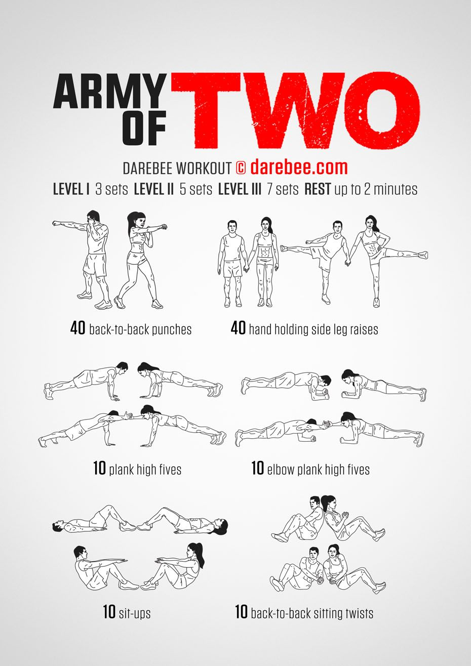 Army Of Two Workout  Us    Army Workout And Exercises