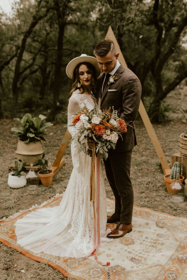 Cozy Intimate Vow Renewal In Texas Hill Country Birch Brass Wedding Renewal Vows Vow Renewal Dress Vow Renewal