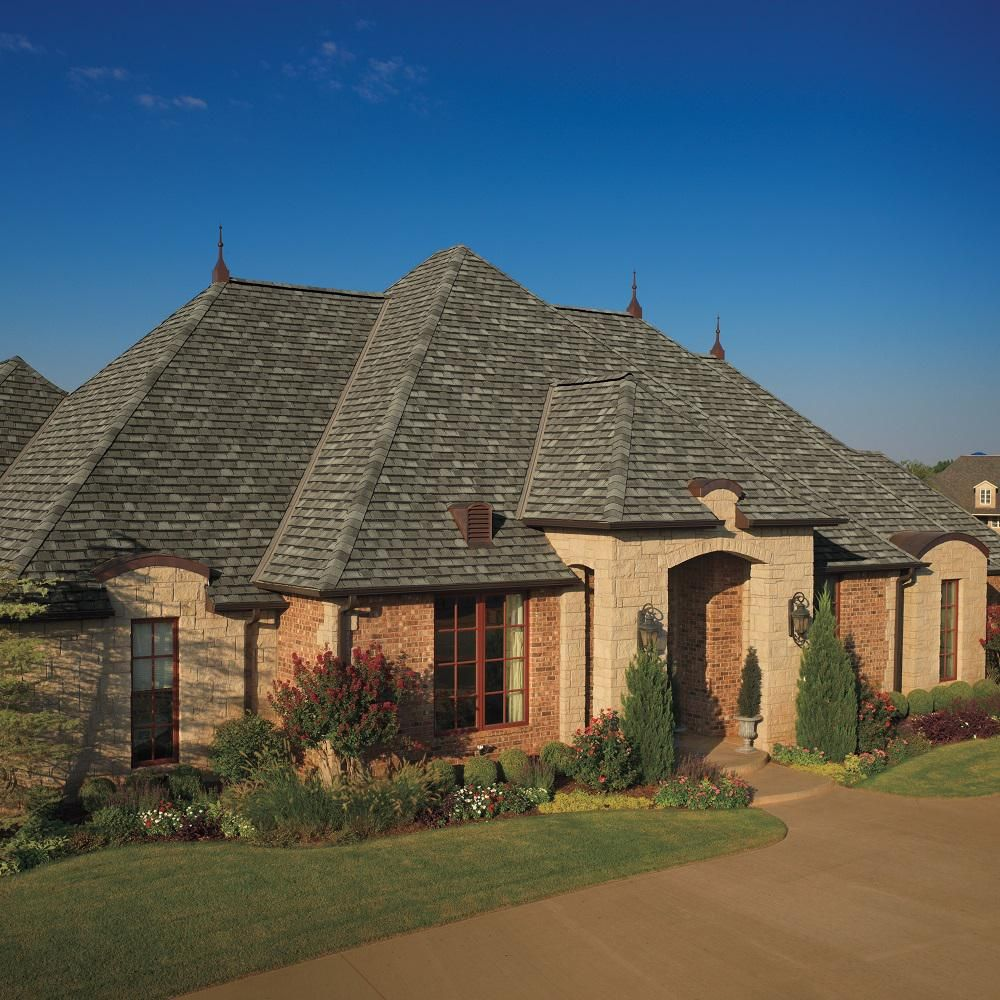 Best Gaf Installed Camelot Lifetime Laminated Asphalt Shingles 400 x 300