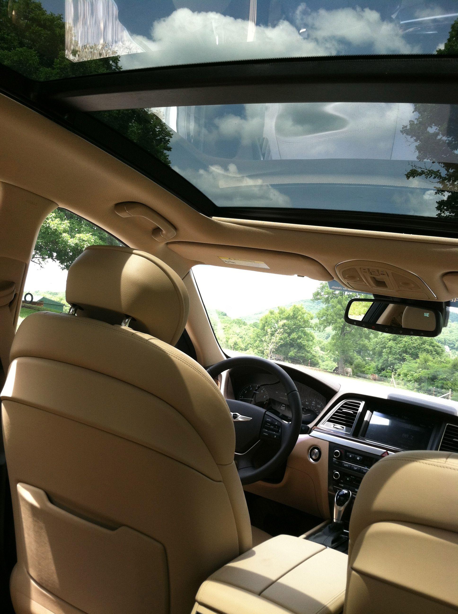 Panoramic Sunroof - 2015 Hyundai Genesis | 2015 Hyundai