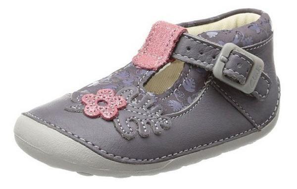 Clarks Ida Acorn Babies Shoes  396b1a5d6936