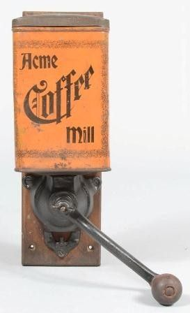 Acme Coffee Mill Vintage Coffee Cans Jars Quot A Quot In 2019