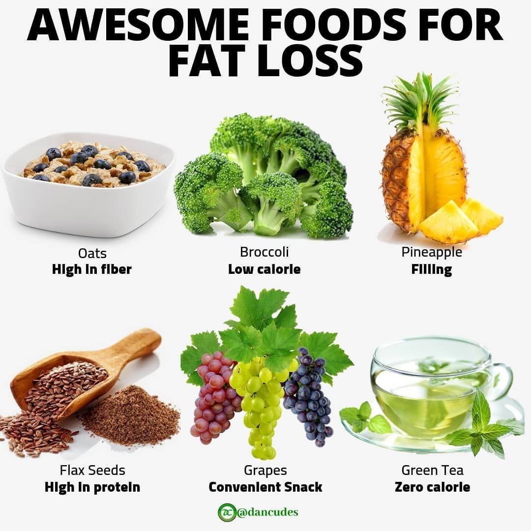 foods that help decrease body fat
